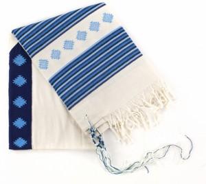 MW blue tallit