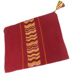 MH burgandy tallit)