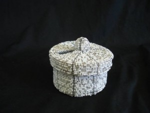 Buy Beaded Tzedakah Box