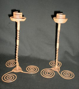 Buy Copper Wire Candlesticks