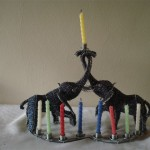 AH Elephant Menorah