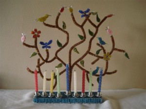 AH Tree of Life Menorah