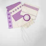 Purchase Lavendar Tallit Set