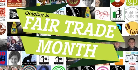 Celebrate October Fair Trade Month