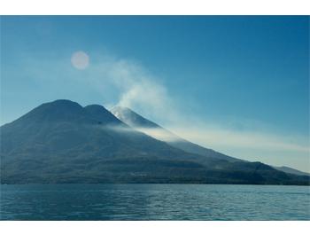Atitlan volcanoes 10