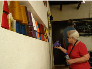 Carol Bodin in Guatemala