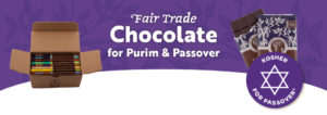 Fair Trade Chocolate for Purim and Passover