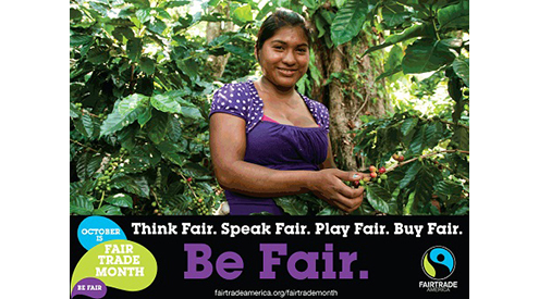 Fair Trade Month Details