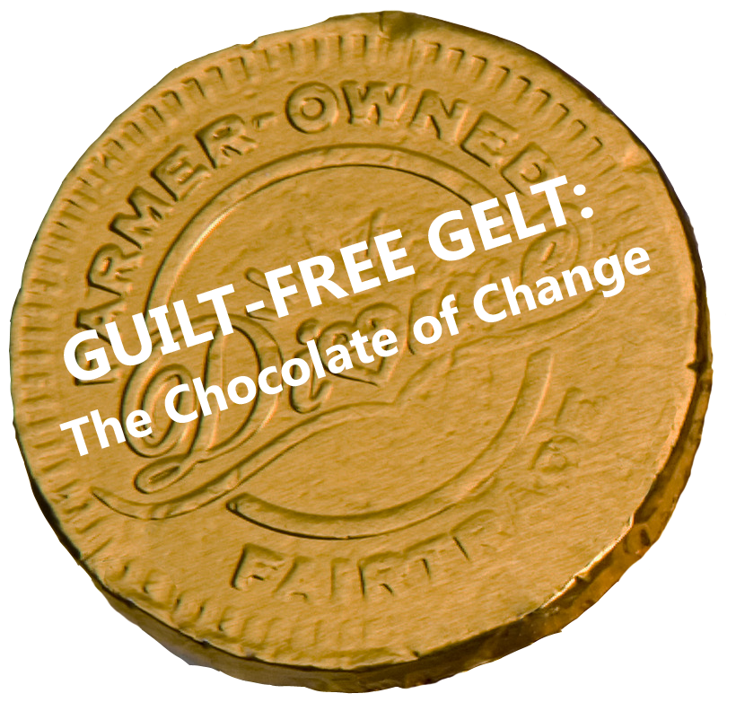 Guilt-free Gelt Tagline Contest Winner
