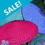 Crocheted Kippot at FTJ's secure online store