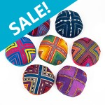 Fabric Kippot at FTJ's secure online store