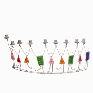 AFH Dancing Children Menorah