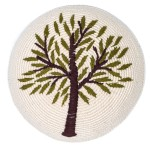Handmade Tree of Life Kippah/Yarmulke