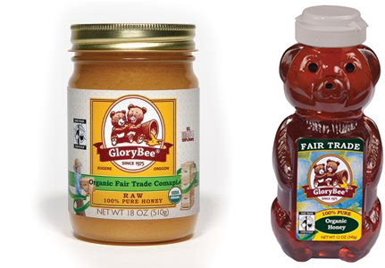 GloryBee Fair Trade Raw Honey